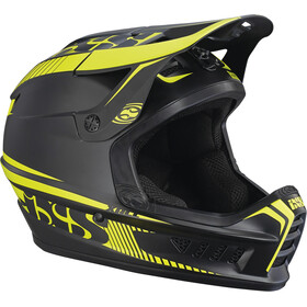IXS Xact Fullface Helmet black/lime
